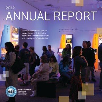 2012 Annual Report - Entertainment Software Association