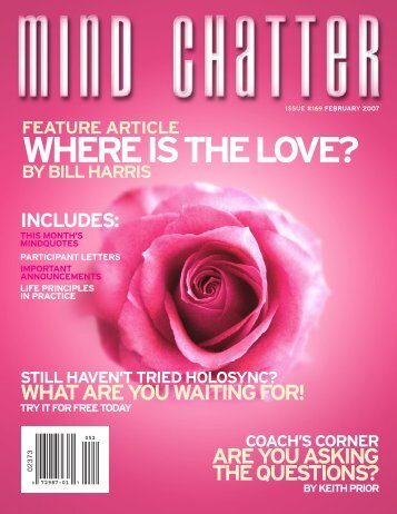 Mind Chatter #169 (Ferbuary, 2007) (PDF) - Centerpointe Research ...