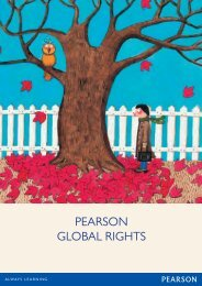 PEARSON GLOBAL RIGHTS - Pearson Global Schools