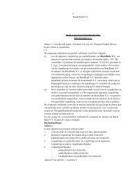 Concept Akte van statutenwijziging BinckBank N.V.