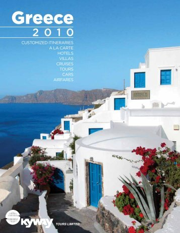 customized itineraries a la carte hotels villas cruises ... - Skyway Tours