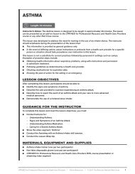 Asthma In-Service Training Outline.indd - Instructor's Corner