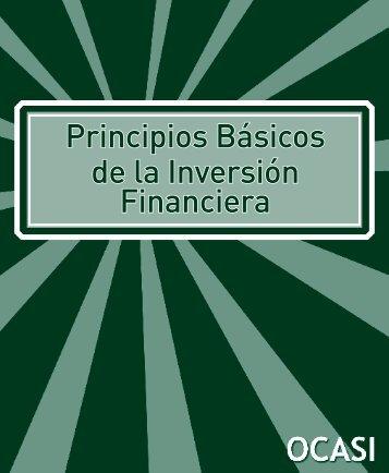 Principios Básicos de la Inversión Financiera - Settlement.org
