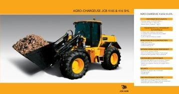 AGRO-CHARGEUSE JCB 416S & 416 SHL - Carma Andenne | jcb