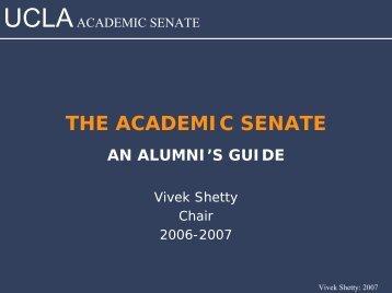 Sample headline here - UCLA Academic Senate
