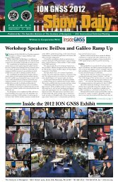 Best Presentation award at ION GNSS 2012 - OxideMEMS Lab ...