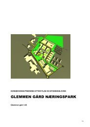 GLEMMEN GÅRD NÆRINGSPARK - Fredrikstad kommune