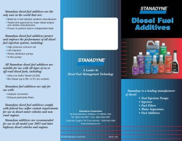 Diesel Fuel Additives Diesel Fuel Additives - Diesel Care