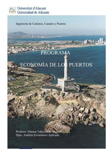 Ingeniería de Caminos, Canales y Puertos - Departamento de ...
