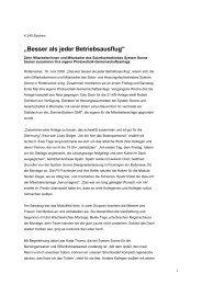 """""""Besser als jeder Betriebsausflug"""" - System Sonne GmbH"""