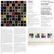 die farbe - edition & galerie hoffmann