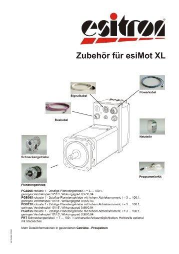 Zubehör für esiMot XL - esitron