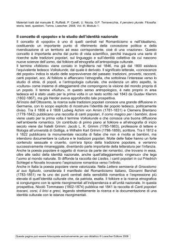 Materiali didattici - Loescher Editore