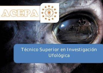 Técnico Superior en Investigación Ufológica