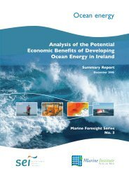 Economic Benefits of Marine Renewables, Ireland - Ocean ...