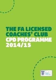 LCC 2014.15 CPD Programme