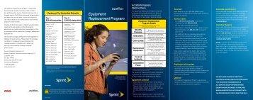 Equipment Replacement Program
