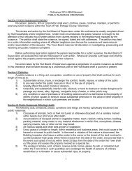 Ordinance 2009-1207 Revised PUBLIC NUISANCE ... - Town of Hull