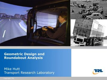 Geometric Design and Roundabout Analysis