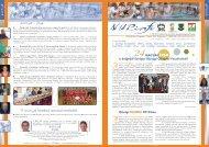 NUPinfo 057. szám - 2007. július - Nemzeti Sport Intézet