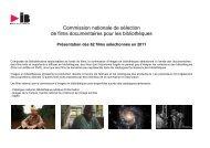 Films de Commission IB 2011.[1] - Le Mois du Film Documentaire