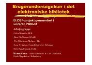 DEFseminar - Alice Nørhede - DEFF