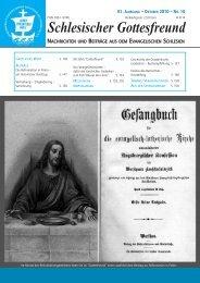 Schlesischer Gottesfreund - Gesev.de