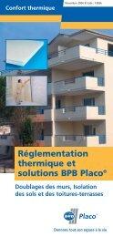Réglementation thermique et solutions BPB Placo® Doublages des ...
