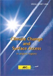 Climate Change and Surface Access in airport regions - DAIR Project