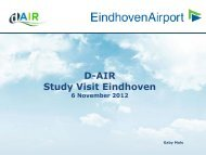 Eindhoven Airport Presentation - DAIR Project