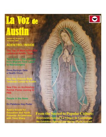 La Voz de Austin December, 2007 20.pmd - La Voz Newspapers