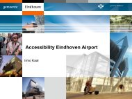 Accessibility Eindhoven Airport - DAIR Project