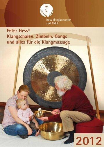 Peter Hess® Klangschalen, Zimbeln, Gongs und alles - Nepal Importe