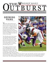 Outburst Vol.1.indd - Bishop Ward High School