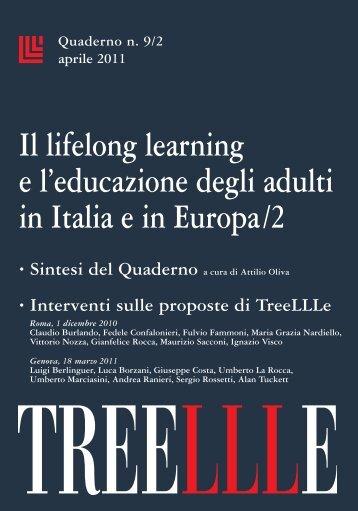 Il lifelong learning e l'educazione degli adulti in Italia ... - Banca d'Italia