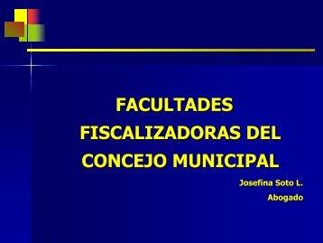 CONCEJO: fiscalización