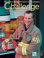 Fall Winter 2003 - The Ottawa Regional Cancer Foundation
