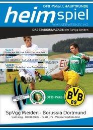 SpVgg Weiden - Borussia Dortmund - Ideen-theke.de