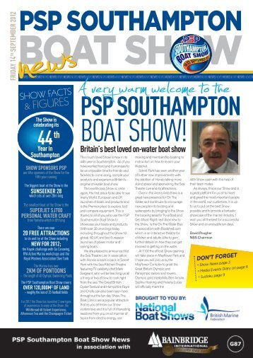 Preview Day - Southampton Boat Show