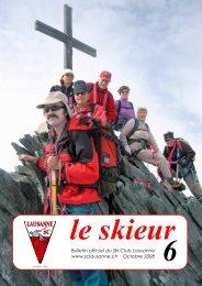 Skieur No 6 - 2008 - Ski-club Lausanne