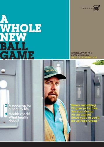 A WHOLE NEW BALL GAME - Foundation 49 Men's Health