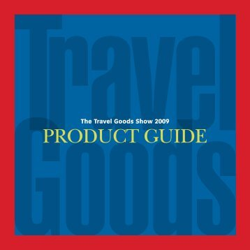 PRODUCT GUIDE - Travel Goods Association