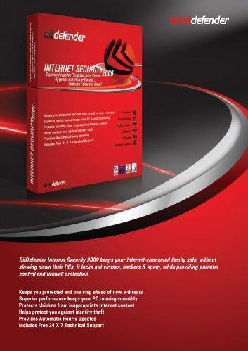 BitDefender Internet Security 2009 keeps your Internet-connected ...