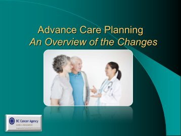 Alternative Dispositions - BC Cancer Agency