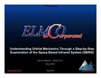 Understanding Orbital Mechanics Through a Step-by-Step ... - AGI