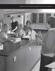 ADMINISTRATION & FACULTY - Tri-County Technical College