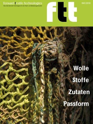 Stoffe Zutaten Wolle Passform - Diffus