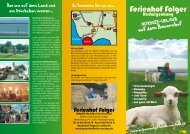Prospekt-Download (PDF) - Ferienhof Folger