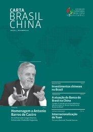 Carta Brasil China - Cera