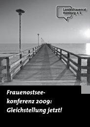 Gleichstellung jetzt! - Landesfrauenrat Hamburg eV